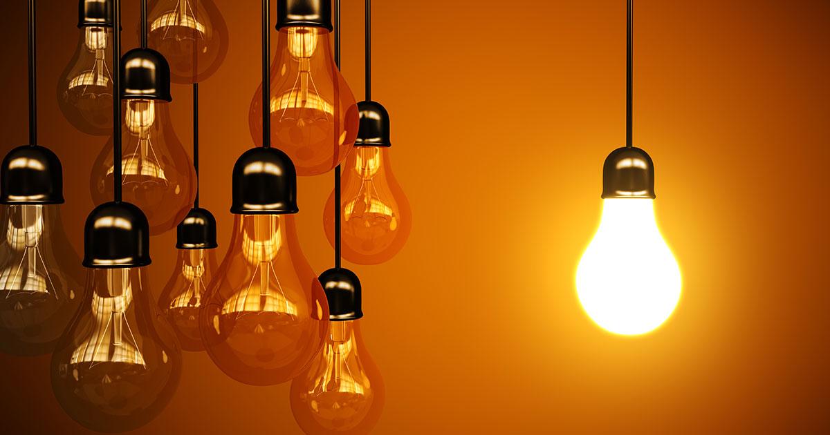 電球の点灯